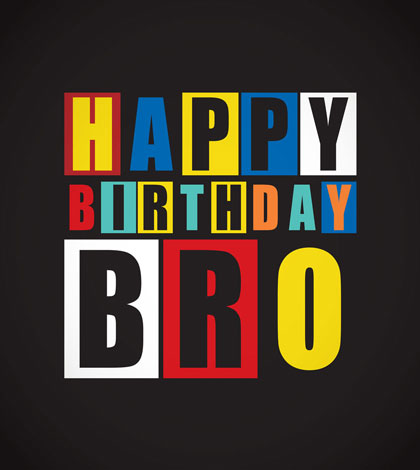 Birthday Greetings For Brother 40th Birthday Sayings